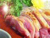 鹿児島県産親鶏もも肉タタキ