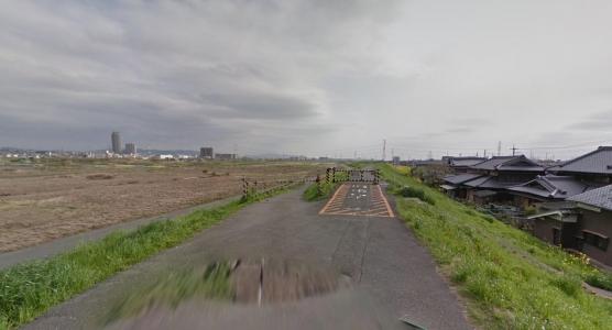 大山崎・桂川付近