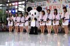 テレ朝夏祭り女子アナ画像画像2