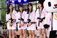 テレ朝夏祭り女子アナ画像画像4