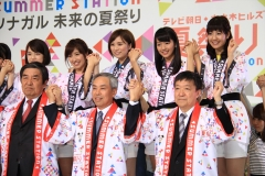 テレ朝夏祭り女子アナ画像画像5