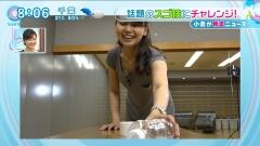 山中章子アナや胸チラ画像3