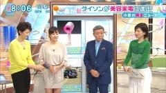 菊川怜ミニスカとくダネ!画像1