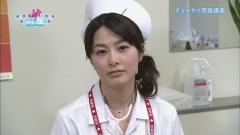 杉浦友紀アナのナースコスプレ画像1