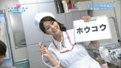 杉浦友紀アナのナースコスプレ画像4