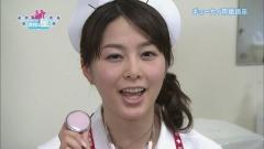 杉浦友紀アナのナースコスプレ画像5