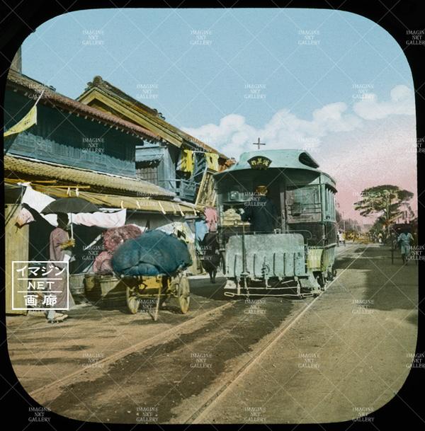 浅草行き鉄道馬車