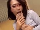 エロメガネ美熟女