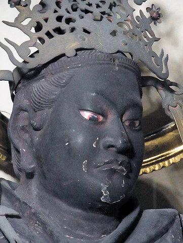 大覚寺・毘沙門天立像