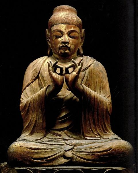 孝恩寺・弥勒菩薩坐像