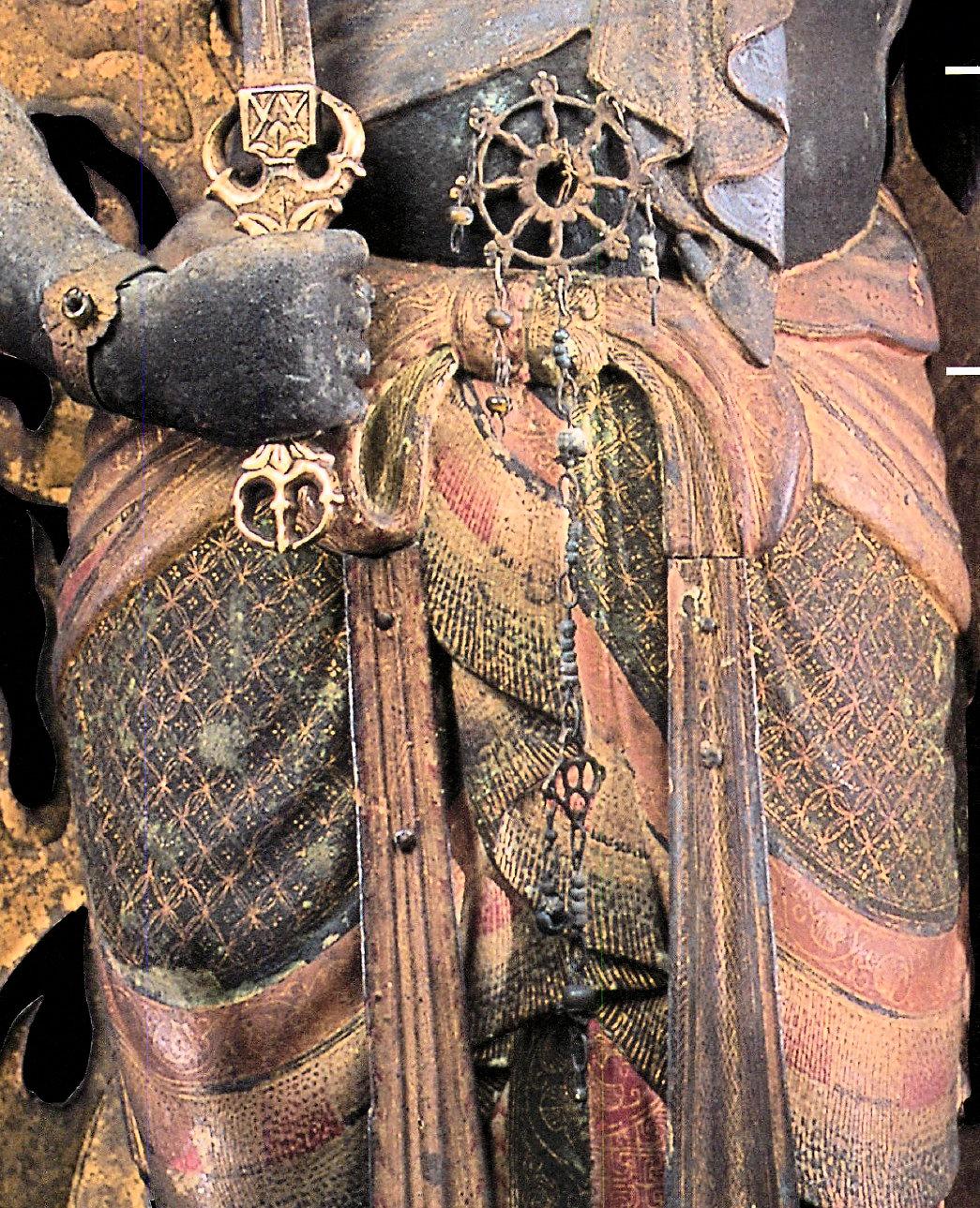 超絶美麗な截金文様の峯定寺・不動明王像