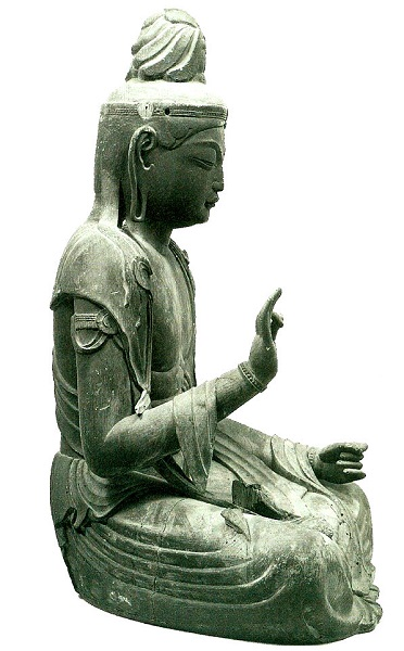 慶瑞寺・菩薩坐像
