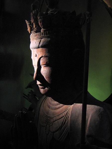 保科清水寺・千手観音坐像