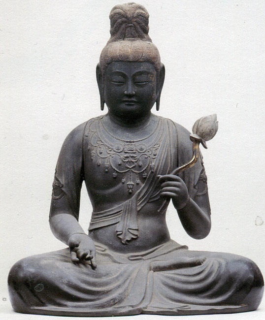 願興寺・聖観音坐像