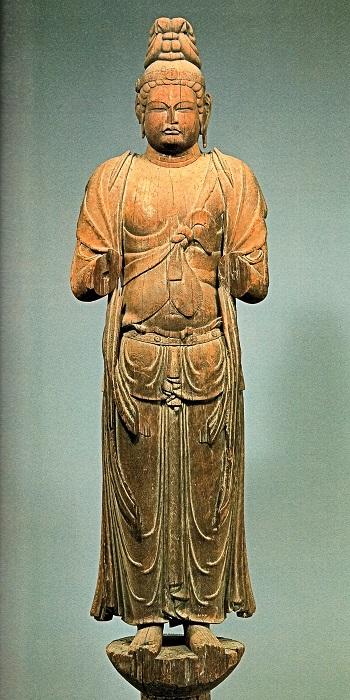 唐招提寺・衆宝王菩薩立像