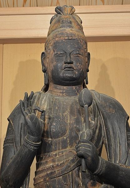 正花寺・菩薩立像