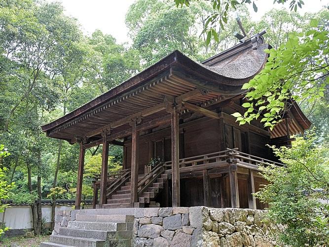 神谷神社・本殿(国宝)