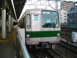 東京メトロ6000系 6000-1F 綾瀬にて