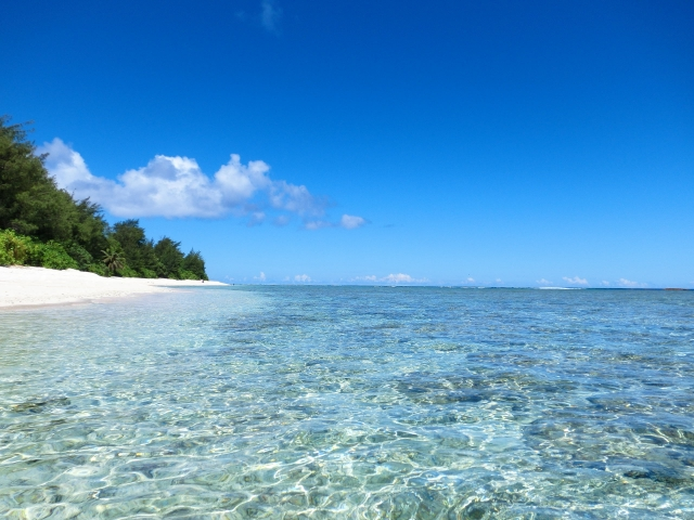 白いビーチ