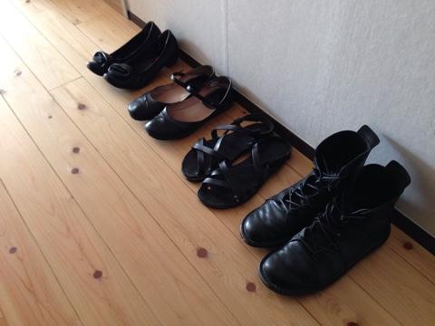 家族の靴の数