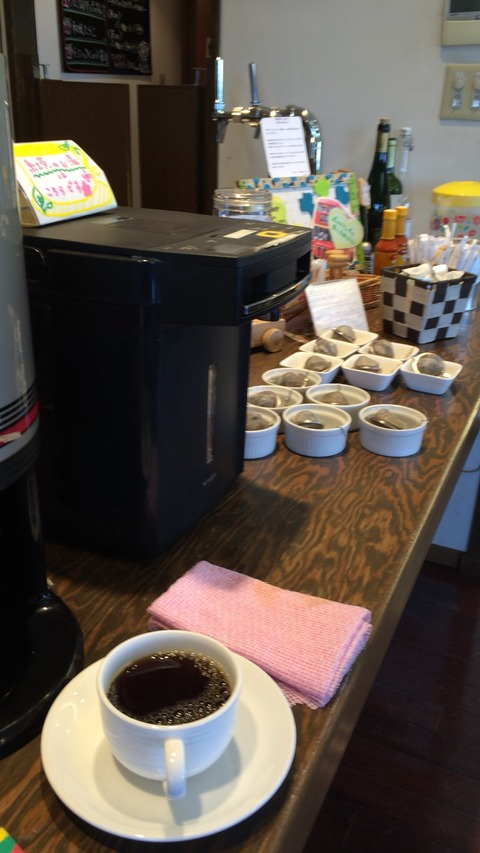 倉敷ランチ モーニングがワンコイン!ランチもお手ごろなパスタフローラ ランチ6 コーヒー飲み放題