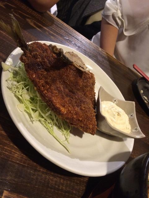 [倉敷]飲み放題980円!料理も安くて美味い!!マッシュポテト倉敷店 アジフライ