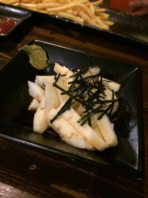 [倉敷]飲み放題980円!料理も安くて美味い!!マッシュポテト倉敷店 山芋短冊
