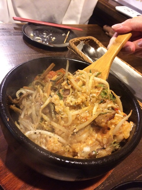 [倉敷]飲み放題980円!料理も安くて美味い!!マッシュポテト倉敷店 石焼風ビビンバ