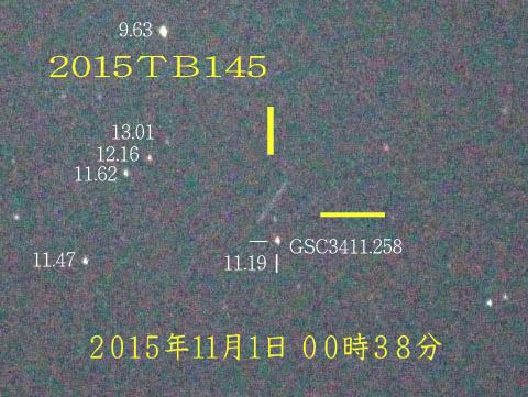ハローウィン小惑星001