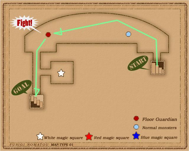 サクッと僧侶2Fmap
