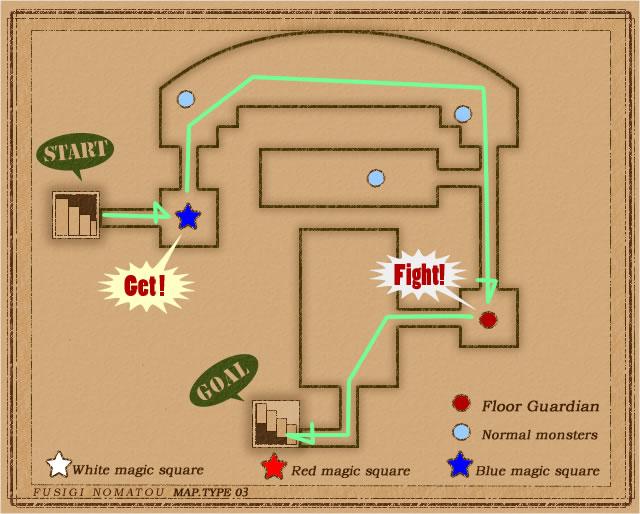 サクッと僧侶3Fmap