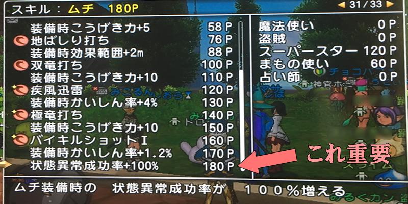 ザルトラ盗賊スキル振り02