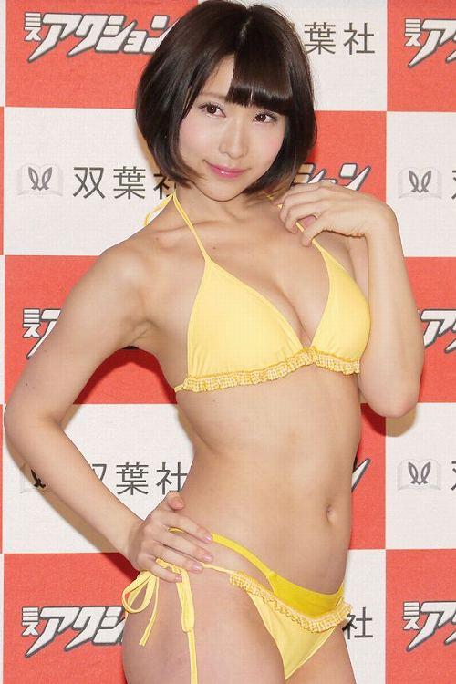 桐生美希水着画像b10