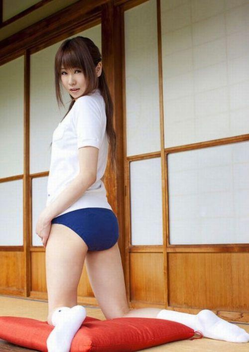 体操服を着たブルマ姿のJKのお尻がエロ過ぎシコた! 38枚 No.5