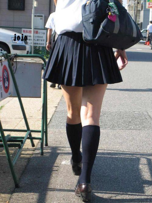 通学中のJKの美脚を盗撮したエロ画像下さい! 40枚 No.16