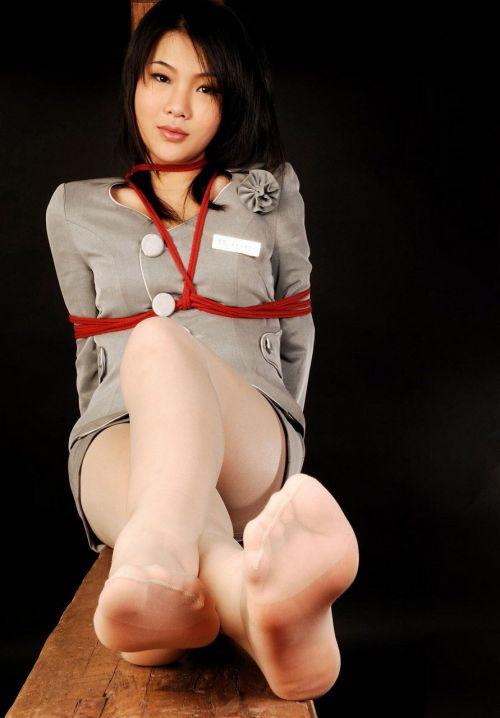 縄で緊縛されるのが大好きな変態女性達のSMエロ画像 39枚 No.2