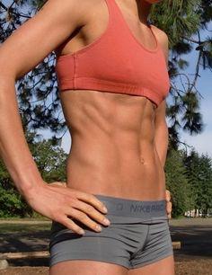 ガッチリ割れた美しい腹筋を持った外人女性のエロ画像 33枚 No.7