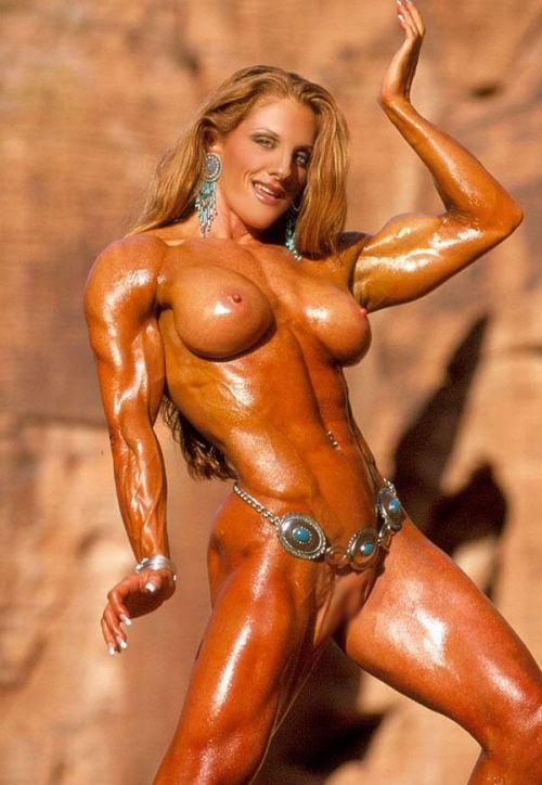 ガッチリ割れた美しい腹筋を持った外人女性のエロ画像 33枚 No.26