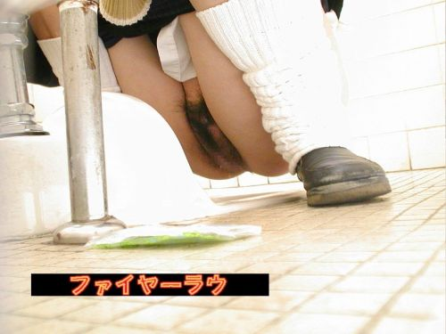 【画像】和式トイレで勢い良くお○っこを飛ばすお姉さんや陰毛がエロ過ぎる! 35枚 No.11
