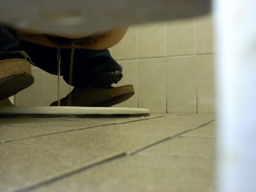 【和式トイレ盗撮】お尻の形が一番丸くなる瞬間を激写したったwww 37枚 No.23