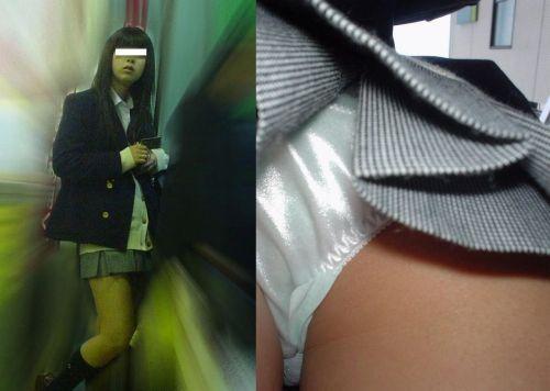 【盗撮画像】お尻にボリュームがあるJKの逆さ撮りがエロイイネ! 39枚 No.16