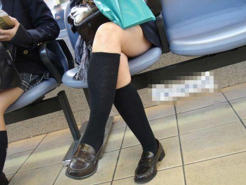 【盗撮画像】素足がスベスベでフレッシュなJKのナマ足エロ過ぎだわwww No.6