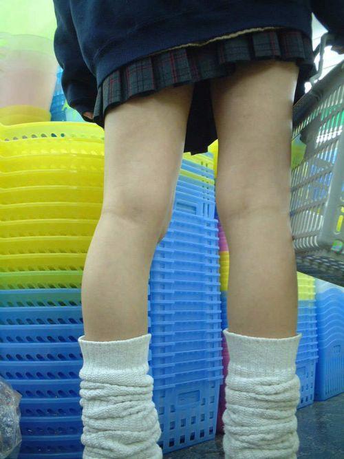 【盗撮画像】素足がスベスベでフレッシュなJKのナマ足エロ過ぎだわwww No.11