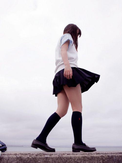 【盗撮画像】素足がスベスベでフレッシュなJKのナマ足エロ過ぎだわwww No.13