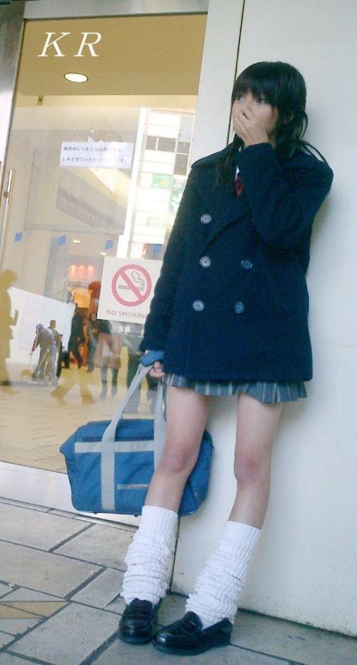 【盗撮画像】素足がスベスベでフレッシュなJKのナマ足エロ過ぎだわwww No.24