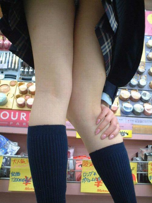 【盗撮画像】素足がスベスベでフレッシュなJKのナマ足エロ過ぎだわwww No.31