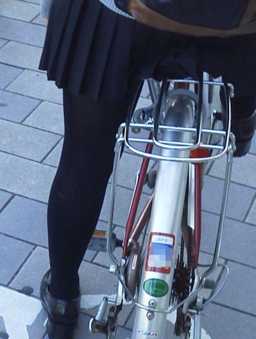 【盗撮】黒タイツを履いたミニスカ女子高生画像まとめ 36枚 No.6