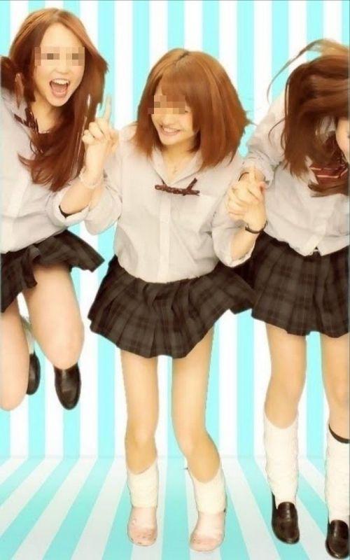 最近の女子高生のはしゃぎ過ぎプリクラエロ画像 40枚 No.16