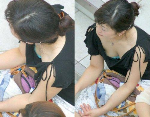 女の子の無防備な胸チラを盗撮したエロ画像 35枚 No.35