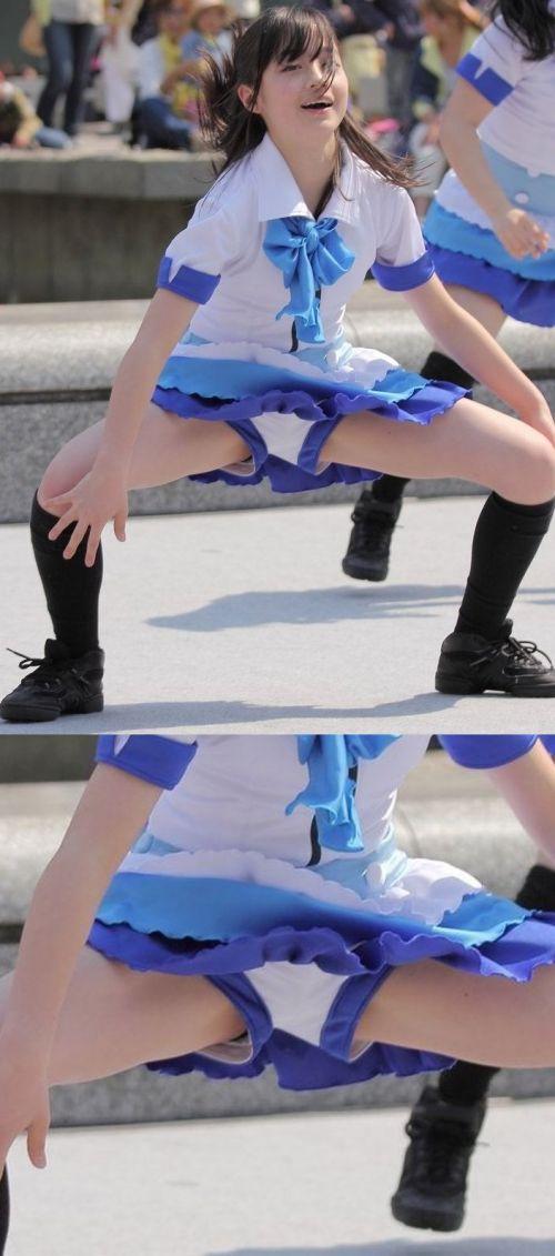 足上げするチアリーダーの股間を激写したエロ画像まとめたったwww 36枚 No.16